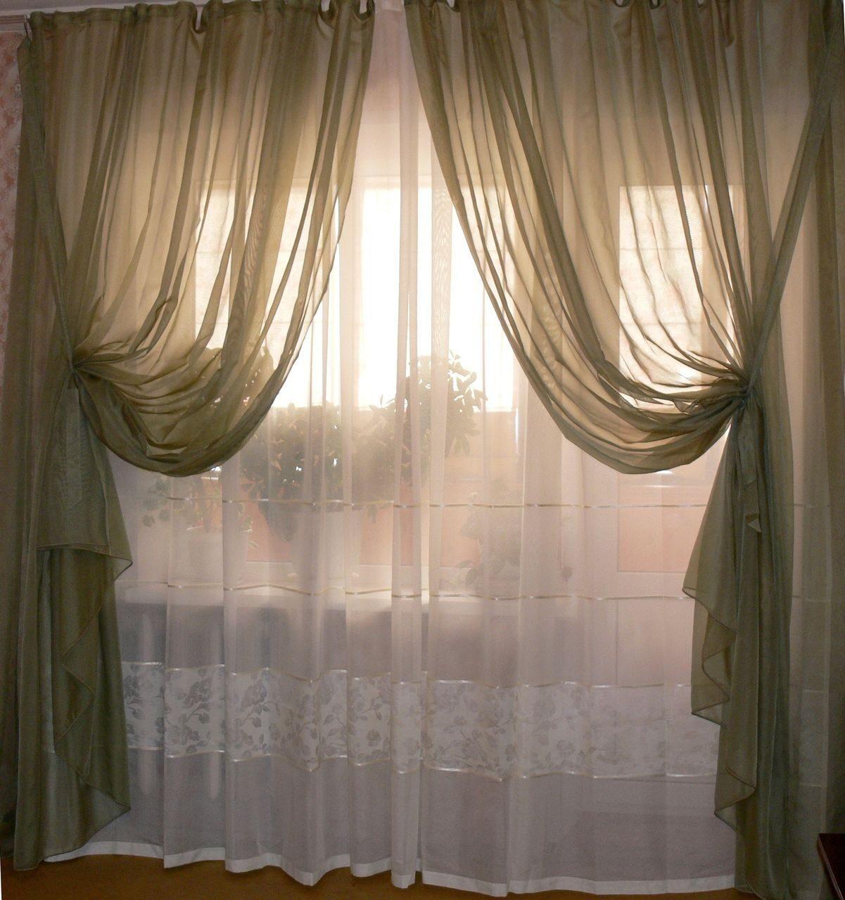 Купить шторы, тюль из органзы недорого в Москве с ...