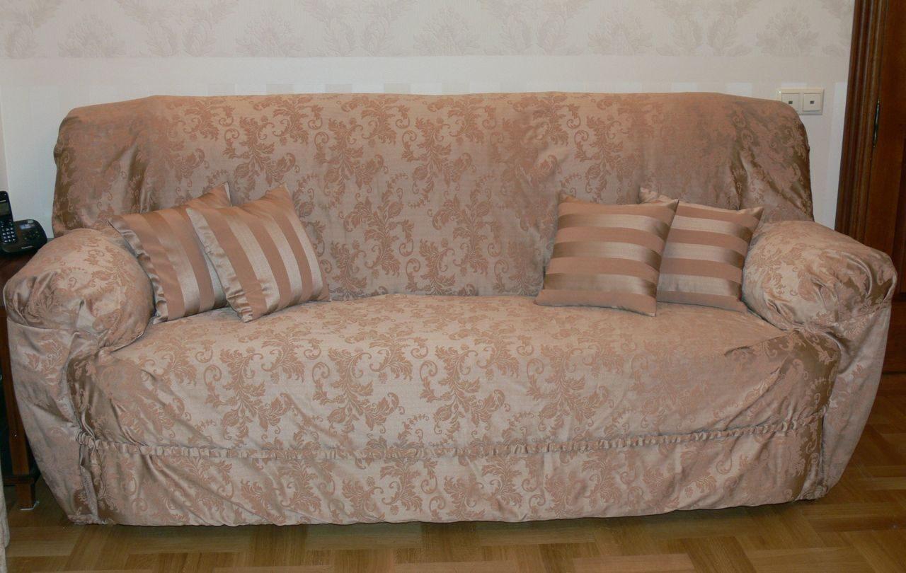 Как и из чего сшить накидки на диван и кресло фото 231