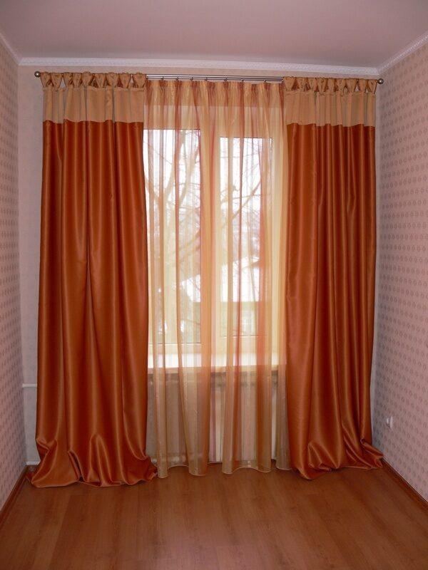 Как удлинить штору своими руками