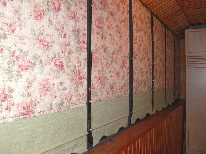 Как сшить шторы на балкон своими руками